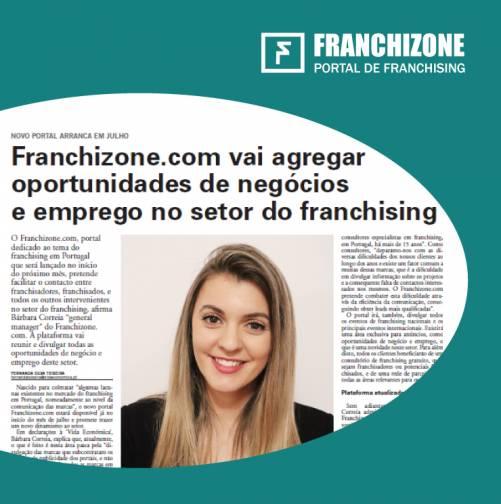 Entrevista so Franchizone no Vida Económica