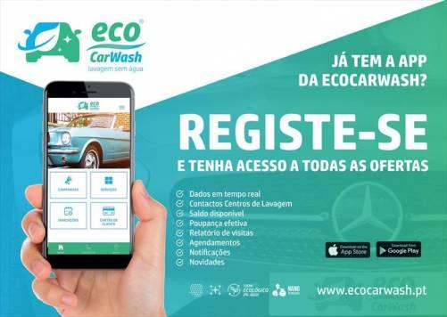 EcoCarWash disponibiliza App com várias vantagens para os consumidores