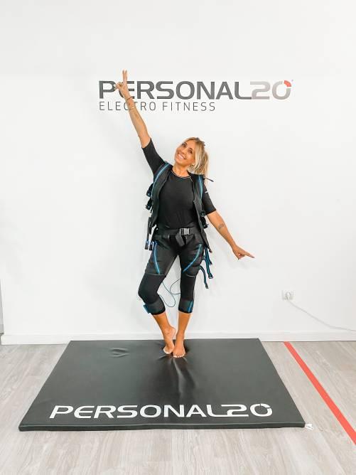 Cláudia Jacques é a nova embaixadora da marca Personal20